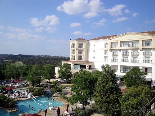 View from our balcony at Westin La Cantera. April 2011