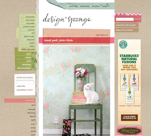 Sneak peek on Design*Sponge