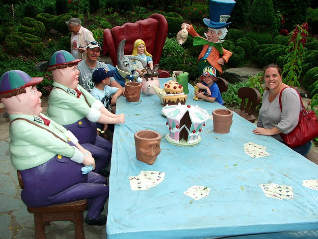 Mad Hatters Tea Party at Hunter Valley Gardens