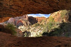 Cave - Zion National Park, Utah (jetguy1) Tags: landscape utah nationalpark nikon scenic cave zionnationalpark usavacation