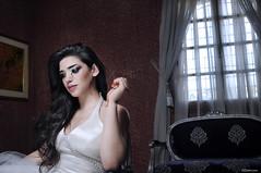 And Love Said No (Zakaria Salhi) Tags: old portrait white green window amazing model nikon sad dress darkness flash tripod style morocco maroc nd 28 mm nikkor softbox reflector d300 lastolite sb800 mc36 strobist ezybox zakariasalhi
