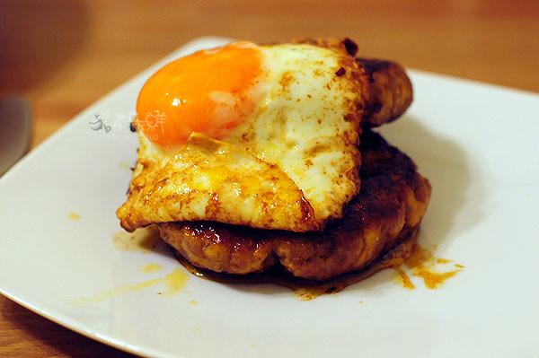 豆腐牛肉漢堡排
