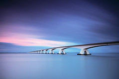 12 minutes at Zeeland (colour) (giles (aka kantryla)) Tags: longexposure holland exposure zeeland 12 minute zeelandbridge