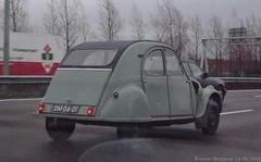 Citron 2CV 1961 (XBXG) Tags: auto old france classic netherlands car vintage french automobile nederland citron voiture 2cv import paysbas eend 1961 geit ancienne 2pk citron2cv franaise deuche deudeuche dm0601 sidecode1