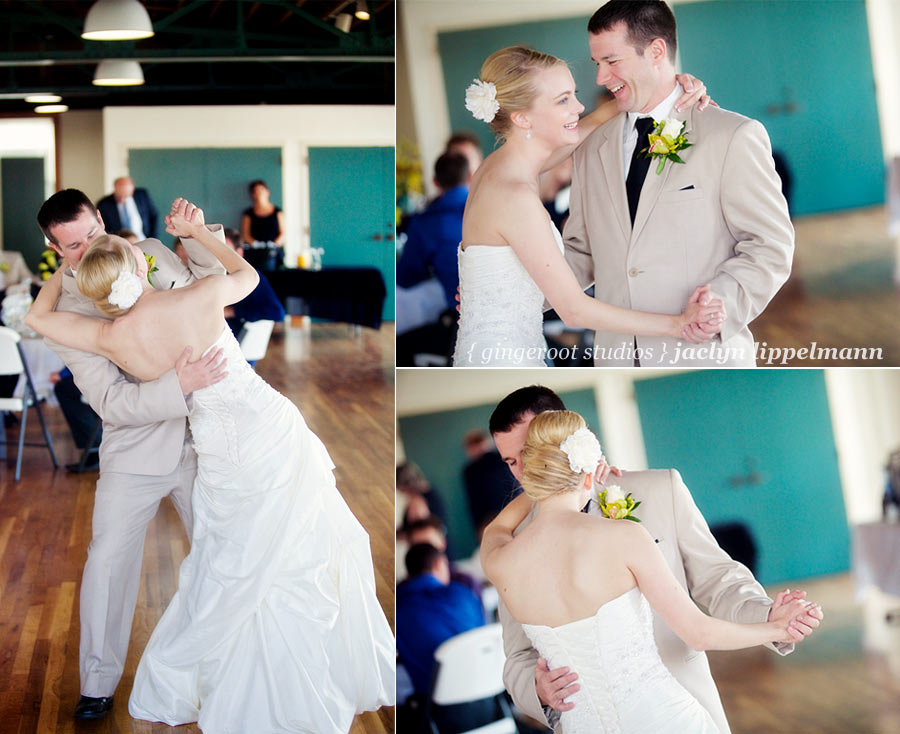 First dance bride and groom photo