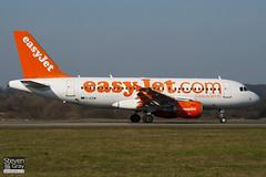 G-EZIM - 2495 - Easyjet - Airbus A319-111 - Luton - 110307 - Steven Gray - IMG_0492