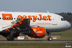 G-EZBR - 3088 - Easyjet - Airbus A319-111 - Luton - 110314 - Steven Gray - IMG_0937