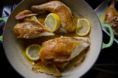 flat roasted chicken heaven
