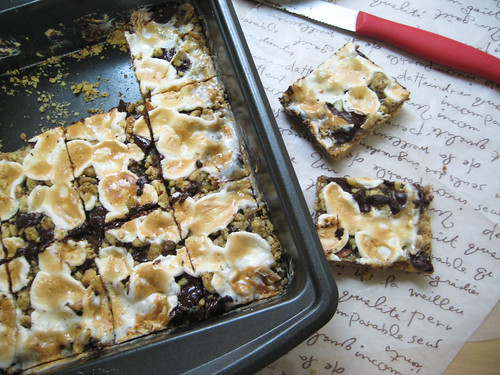 Vegan Rocky Road Bars