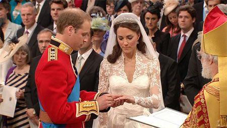 威廉王子世纪婚礼 全球1/3人见证