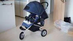 brandnew stroller : air buggy coco