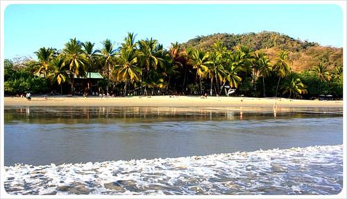 samara beach from water