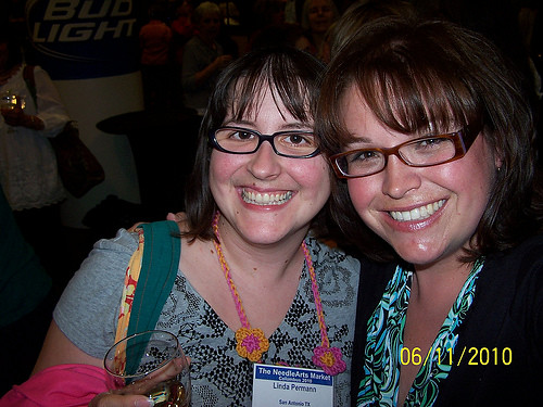 me and marly at TNNA 2010