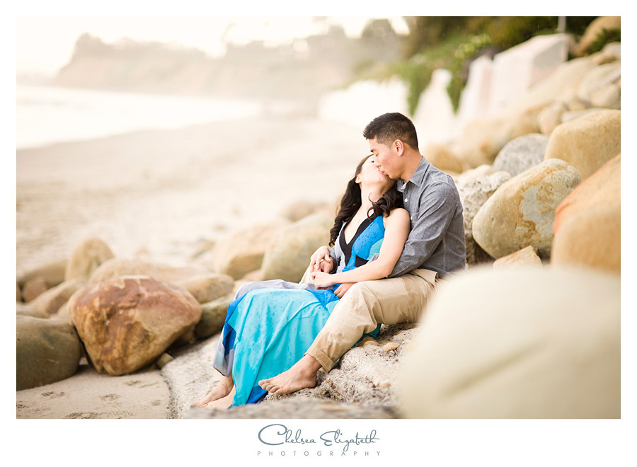 four seasons beach engagement photos