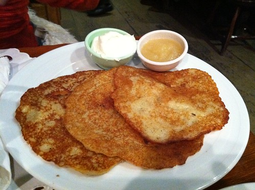 Potato pancakes in Chicago