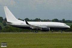 N721BA - 37111 - Private - Boeing 737-7JR BBJ - Luton - 100607 - Steven Gray - IMG_3370