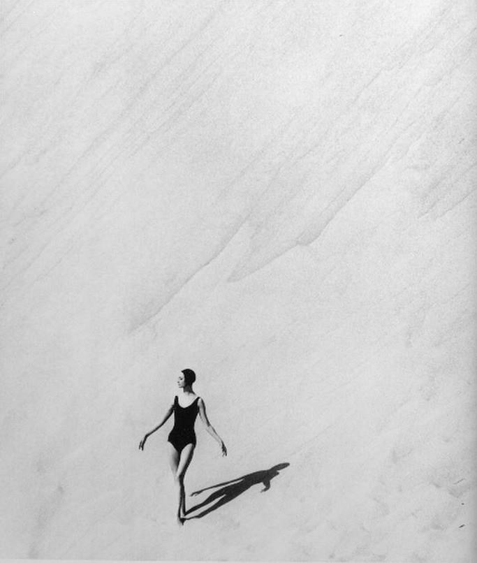 Catherine, Dune du Pyla Georges Dambier 1954