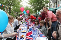Broadway Street Party Table