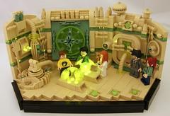 Generator (Bart De Dobbelaer) Tags: lego space vignette hex