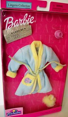 Barbie  Bathrobe (napudollworld) Tags: girls shadow party storm shoe ebay g barbie joe pack dynamite tweety bathrobe finds sleepover deals