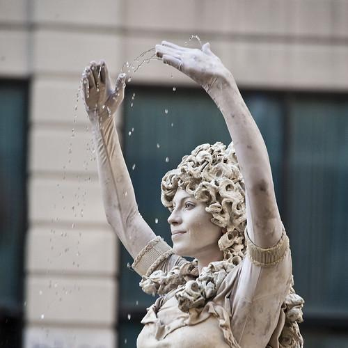 living fountain