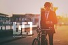 Ross Bryant — Editor, B[liminal] Magazine (Rick Nunn) Tags: portrait sun sunglasses bike shirt magazine text tie naturallight smoking flare launch canonef135mmf2l bliminall vsortpop