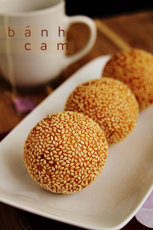 Banh Cam Recipe Vietnamese Sesame Balls
