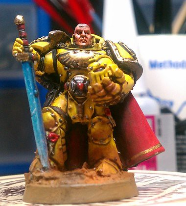 Imperial Fists Space Marine Master of the Arsenal