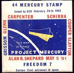 ALAN SHEPARD - FREEDOM 7 /