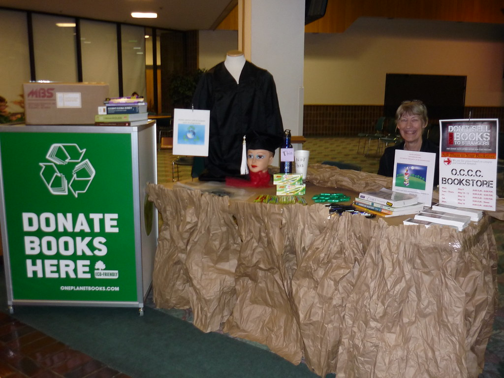 MBS Foreword Online - OCCC Bookstore participates in Green Fair