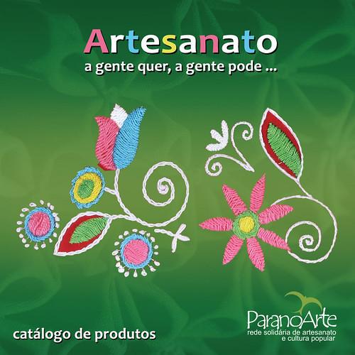 Catálogo Produtos Rede Paranoarte - Capa - Capa by PARANOARTE