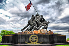 Uncommon Valor Was A Common Virtue (Bill Boland Photography) Tags: world 2 japan arlington canon joseph army eos was virginia bill marine memorial war flag wwii navy virtue ww2 samoa okinawa airforce midway common hdr guam boland guadalcanal saipan iwo jima tarawa valor marshallislands rosenthal peleliu solomonislands uncommon bougainville newbritain tinian gilbertislands wakeisland 60d newgeorgia bboland67 19733marinesdiedinpacifictheater