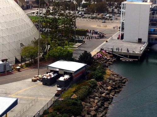 Carnival Splendor - Embarkation Line Has Become Hideous