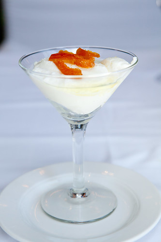 Yogurt martini