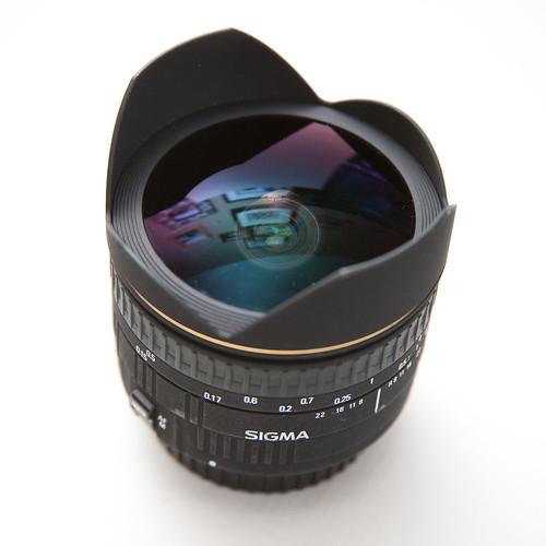 Sigma 15mm EX DG Fisheye