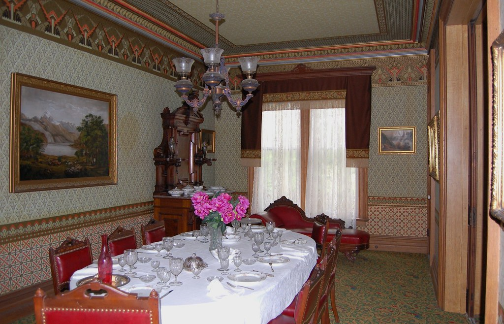Genesee Country Museum - Hamilton House -  Dining Room