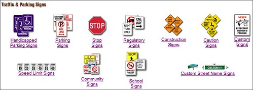 Traffic & Parking Signs - Images