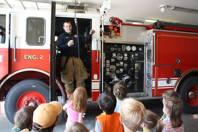 fire station field trip • preschool - 25