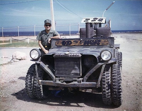 BAD NEWS Jeep Dune Buggy Viet Nam by lee.ekstrom