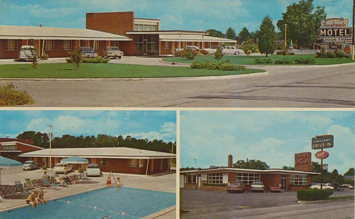 ... of Downtown: Tomahawk Motel and Restaurant - Ahoskie, North Carolina