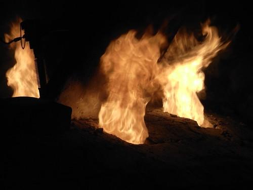 2011年5月の窯焚き by gatto_rosso