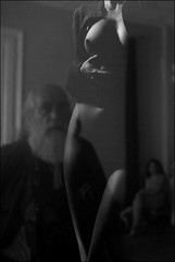 """unbearable light"" (Horse Wing) Tags: blackandwhite bw nude artistic nud albnegru dorelgaina pentaxk10d vernisaj laurabalc lighthousestudio pentaxart carmenorasanu"