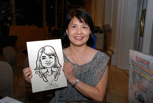 Caricature live sketching for Tetra 60th Anniversary - 16