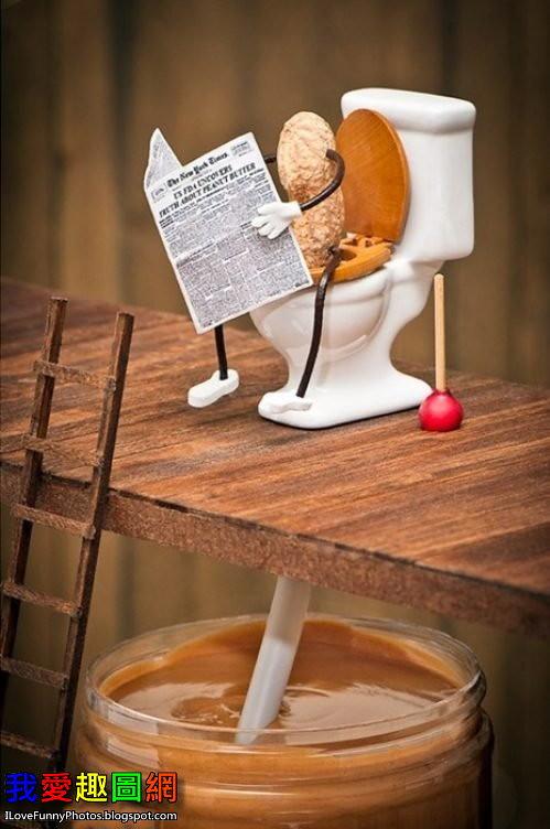 原來花生醬是這樣生產出來的 Peanut Butter[我愛趣圖網]