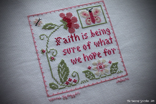 "Little House Needleworks ""Faith"""