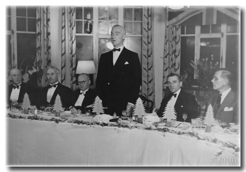Management Staff Dinner, 1945