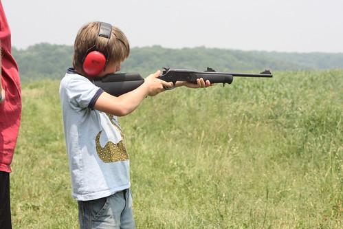9 luke takes aim
