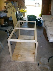 Robbies Rabbits, Basic Cage Frame (proudnamvet........Patriot Guard Riders) Tags: bunnies project robyn rabbits westville petsoklahoma