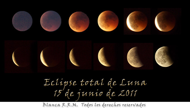 Eclipse total de Luna ~~ 15 de junio de 2011