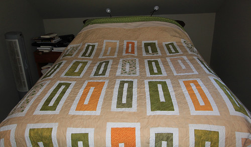 King size quilt almost done